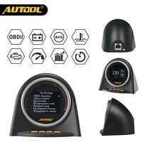 Autool X70 OBD HUD-UP Display Speedometer Code Reader Alarm Engine Monitor