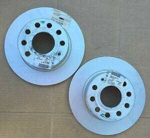 Skoda Rear Brake Discs *x2 supplied* - 1K0615601K **Genuine New VW Group Parts**