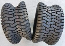 2 - 20X10.00-8 4 Ply Deestone D265 Turf Saver Lawn Mower Tires PAIR 20X10.0-8