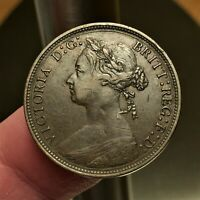 1879 Great Britain 1/2 Penny KM# 754