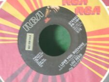 MINT/M- RARE PROMO 45~LOU REED~I LOVE YOU SUZANNE/MY FRIEND GEORGE~W/Sleeve
