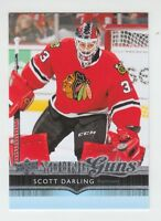 (71402) 2014-15 UPPER DECK YOUNG GUNS SCOTT DARLING #498 RC