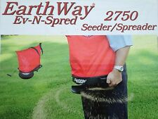 Lawn Pro EarthWay Bag Seed & Fertilizer Spreader 9Kg Capacity Trade Quality
