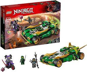 LEGO 70641 Ninjago Ninja Nightcrawler New & Sealed Retired  FREE POST
