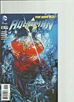 Aquaman Lot of 8 issues #12-#19 New 52 Geoff Johns DC Comics