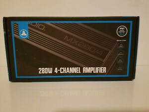 JL AUDIO MX280/4 MARINE/MOTORSPORT COMPACT 4-CHANNEL AMPLIFIER FREE SHIPPING