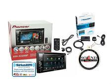 Pioneer AVH-X2600BT DVD Receiver w/ Built in Bluetooth and SiriusXM SXV300v1 Pkg