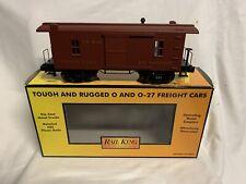 ✅ MTH Railking Pennsylvania 19th secolo CABINA BAGAGLI AUTO Caboose 30-77061! PRR