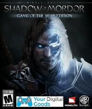 Middle Earth Shadow of Mordor Game Of The Year GOTY PC [NEW GLOBAL STEAM KEY]
