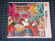 NEW Nintendo 3DS Dragon Ball Heroes Ultimate Mission X w/Bonus Card & DLC JAPAN