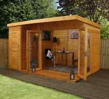 Mercia 12x8 - Garden room with side shed