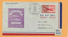 U.S.S. FRANK KNOX OCT 29,1946 U.S NAVY