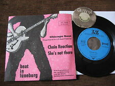 "7"" Chicago sect tedesca BEAT Lüneburg Chain Reaction PRIVATE PRESS 1965 RAREEE"