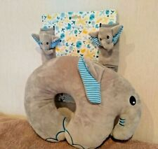 Children's Travel Pillow & Car Belt/Strap Cover Set