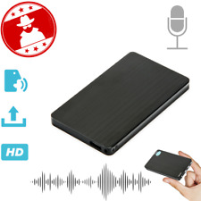 2019 Spy Mini Audio Recorder Voice Activated Listening Device 96 HRS 8gb Bug