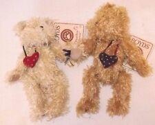 "Boyds Floppy Friendship Bears NWT You Name The Bears 7.5"" tall"