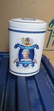 Queen Elizabeth II Diamond Jubilee Tea Tin caddy Ringtons Collectable Royalty