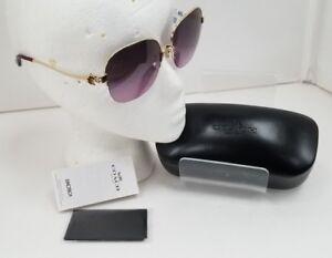 Case Coach Sunglasses HC7068 & Coach Gift Bag NWT