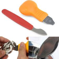 Abridor de Reloj Cuchillo de prensa Estuche con Cubierta Posterior Removedor de cambio de batería Kit de Herramientas de Reparación
