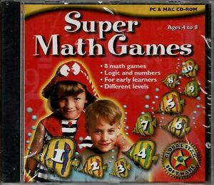 Super Math Games Pc New XP - SEE BELOW Win10