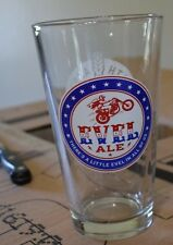 evel knievel evel ale 16 oz beer glasses