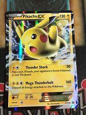 Pokemon Pikachu EX XY174Black Star Promo Ultra Rare NM