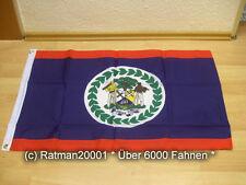 Fahnen Flagge Belize - 60 x 90 cm