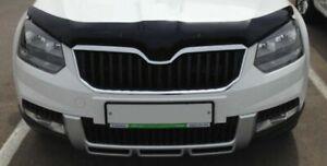 Premium Quality Bonnet Protector - Tinted - for Skoda Yeti 2013-2018 Facelift