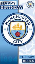 Manchester City Football Birthday Card  FREE 1ST CLASS P&P (MC004)