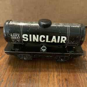 Vintage Marx   Black Version   S.D.R.X. SINCLAIR Tanker #19847   Fair Condition