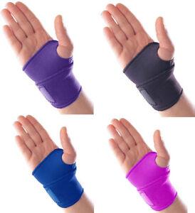 Neoprene Adjustable Wrist Palm Hand Support Brace Sprain Wrap Strap Gym Bandage