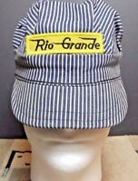 Vintage RioGrande Railroad Engineers Hat Small