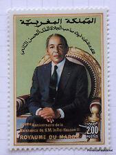 MAROC 1068  neuf  60ème anniversaire de la naissance de S.M. le Roi Hassan II