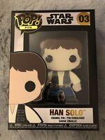 Han Solo Star Wars 03 Funko Pop Pin Wave 1 Loungefly Original 1st Wave Empire