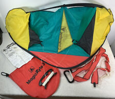 "Playhut Magic Kyte 3 Vintage Kite with case good condition 1997 39"" X 20"" Case"