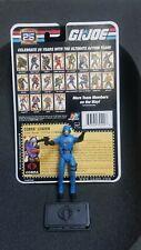 New listing G.I. Joe Cobra Commander V24 2007 Complete With File Card