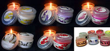 Scented Floral Candles & Tea Lights