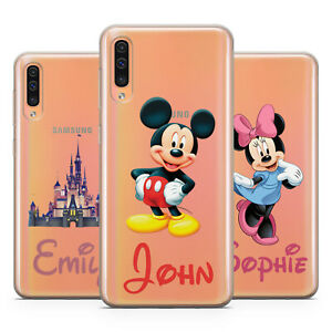 Mickey Minnie Mouse Personalised Phone Case For Samsung Galaxy A30 50 70