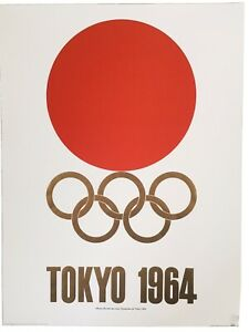 Tokyo Olympic Games 1964 Poster