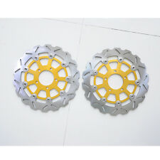 CockFront Brake Disc Rotor For Suzuki GSXR600 GSXR750 K4/K5 GSXR1000 K3/K4 Pair