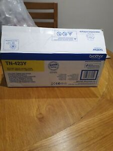 Brother TN-423Y HY Toner Cartridge - Yellow new free post
