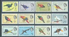 British Honduras 1962 Birds sg.202-13 MH set of 12