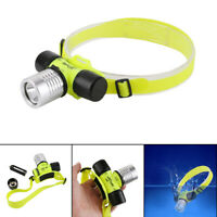 XPE LED Diving Head Light Waterproof Diving Lamp Underwater Flashlight Torch