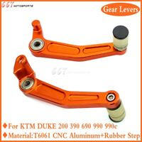CNC Aluminum Brake Gear Shift Pedal Levers for KTM 200 390 690 RC Duke 2008-2019