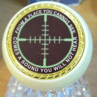 Sniper Challenge Coin You Can Run Knob Dillon Hornady RCBS Reloading Press #14