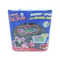 Littlest Pet Shop Biggest Adventure TV Plug & Play 2007 Complete in Box