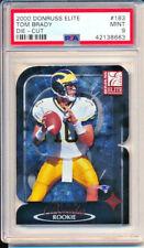 2000 Donruss Elite #183 Tom Brady Die-Cut PSA 9 MINT. ROOKIE #375/2000 Patriots