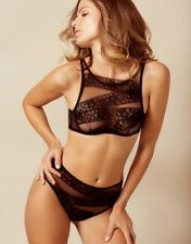 AGENT PROVOCATEUR RARE ANGELICA BRA   BIG BRIEF BOTH SIZE 5 X LARGE UK14-16 cecd55b00