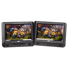 """DVD Player Dual 9"""" in car with Bonus Pack (REPACK)"""
