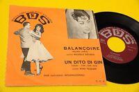 "MICHELE SECHER 7"" BALANCOIRE ORIG ITALY 1962 EX"